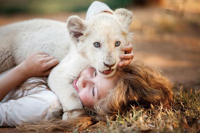 画像: 11歳の少女とライオンの絆をCGなしで撮影