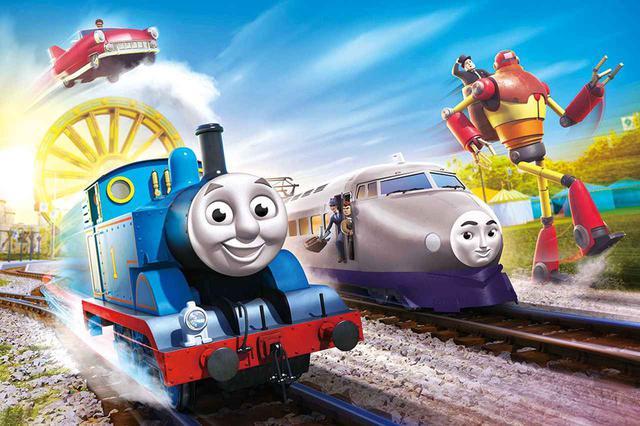画像: トーマスと仲間たちが力を合わせて未来を守る!