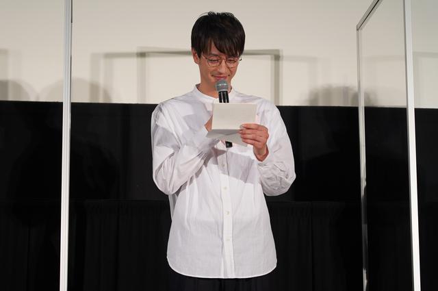 画像4: 本作のテーマは手紙。ここで、猪塚から竹財へ感謝の手紙