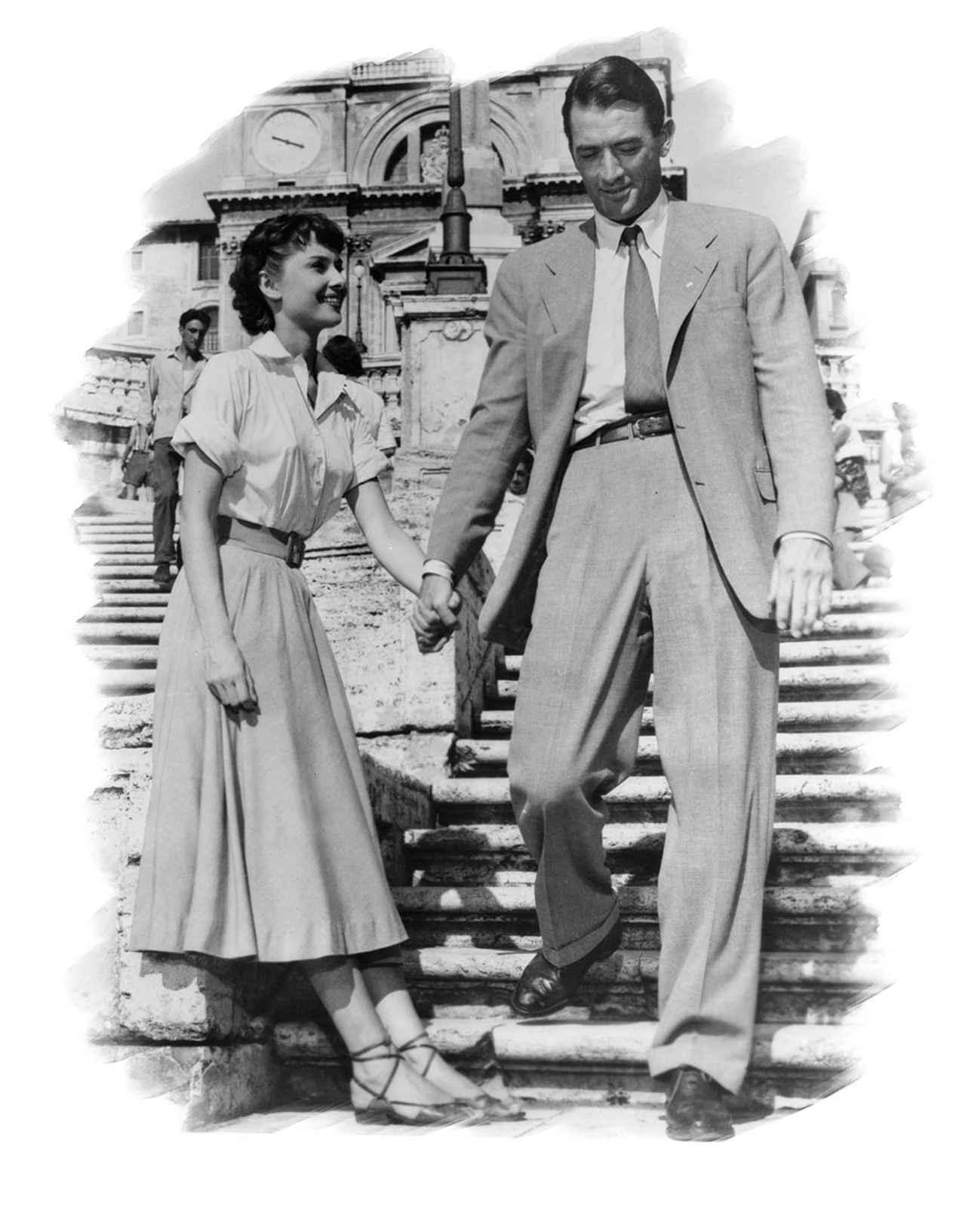 画像: オードリーの鮮烈なハリウッド・デビュー作『ローマの休日』(1953)