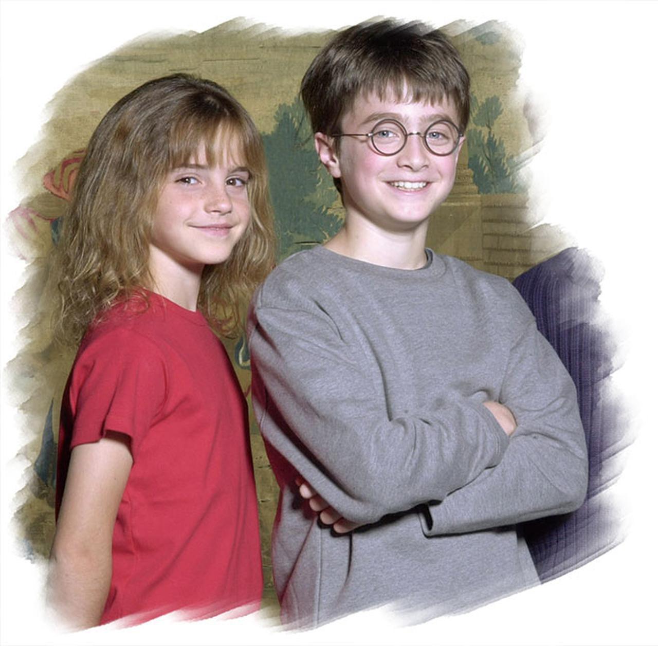 画像: 「ハリー・ポッター」コンビの ダニエル・ラドクリフ と エマ・ワトソン