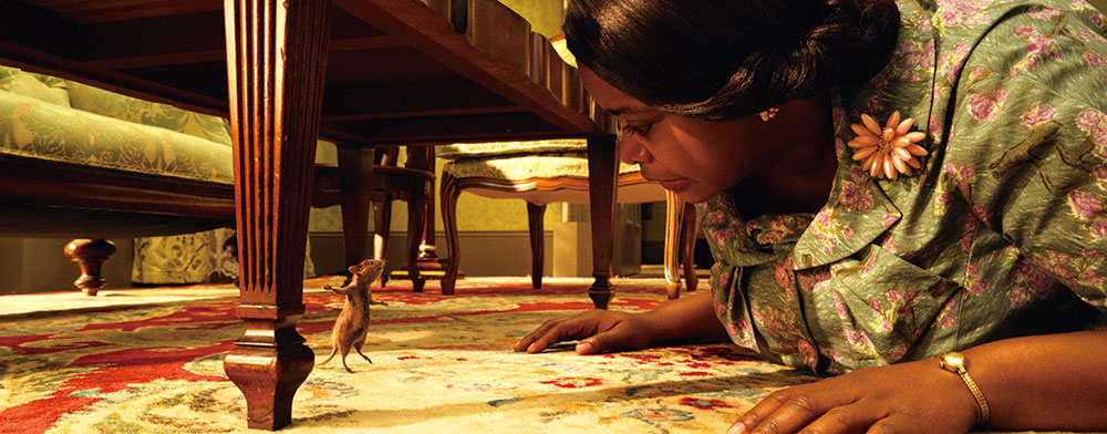 画像: 魔法でネズミにされた主人公と、魔女に詳しい祖母のコンビネーションも見どころ