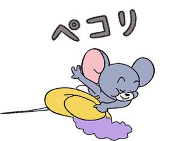"""画像3: 映画『トムとジェリー』公開記念!キュートな""""トムジェリ""""LINEスタンプが本日配信スタート"""