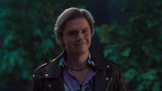 画像: 『X-MEN:アポカリプス』などでクイックシルバーを演じたエヴァン・ピーターズが登場(『ワンダヴィジョン』より) © 2021 Marvel