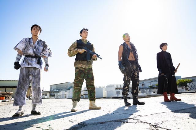 画像: 映画『スーパー戦闘 純烈ジャー』敵役キャストは仮面ライダーの岩永洋昭ら!