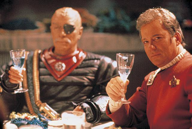 画像: 『スター・トレックⅥ』(1991)でウィリアム・シャトナーと