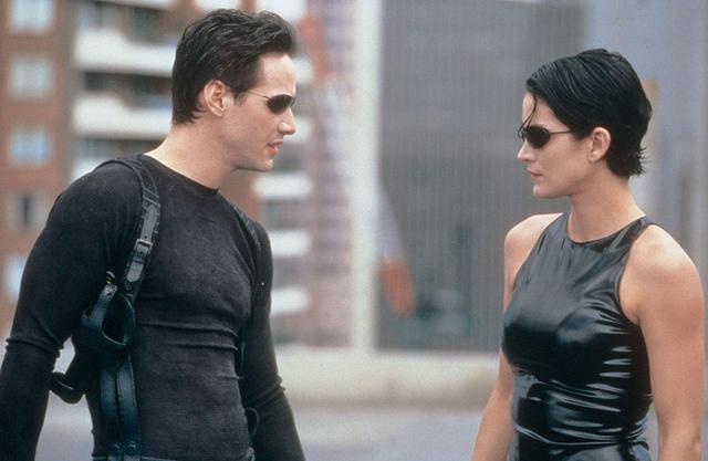 画像: 『マトリックス』(1999)のトリニティを演じたのはキャリー・アン・モス