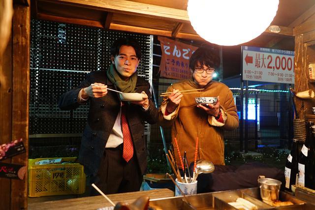 画像1: 映画『くれなずめ』成田凌のカラオケ熱唱、高良健吾と屋台おでん他アラサー男子のメイキング写真解禁!