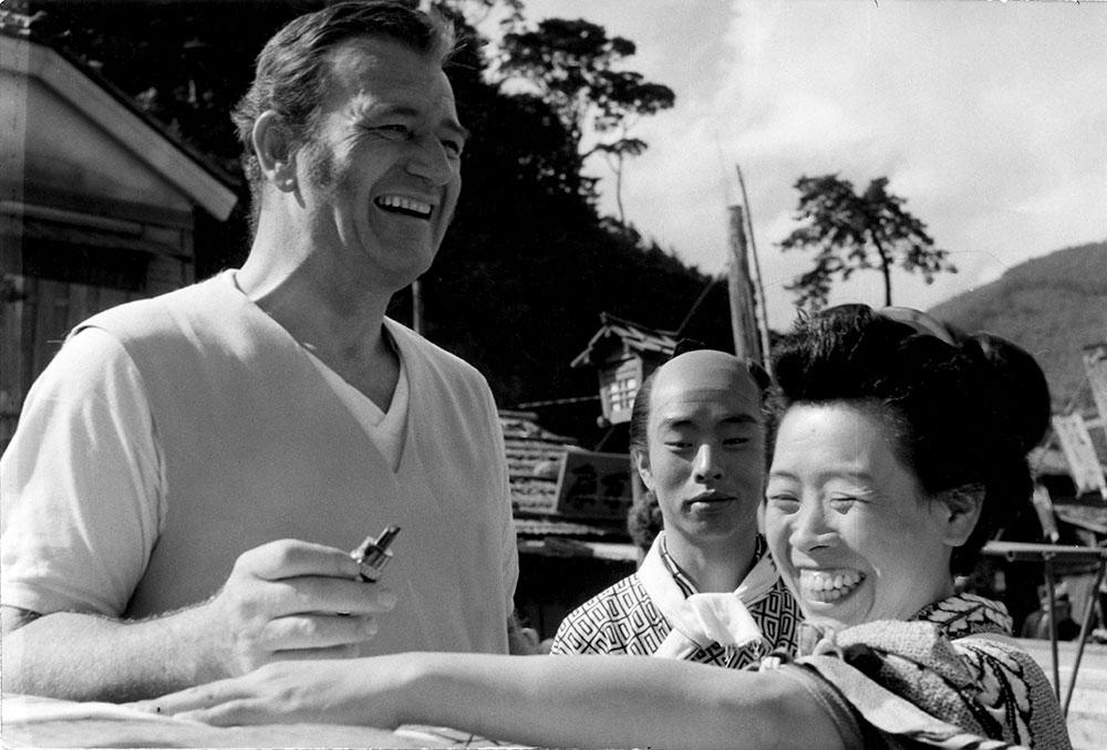 画像: ジョン・ウェインも『黒船』の撮影を1957年に日本で行なった