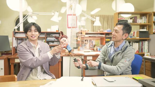 画像: 今回は中島健人が宮崎吾朗監督にインタビュー