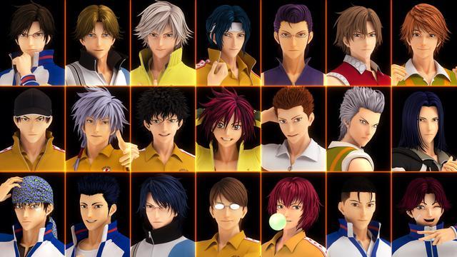 画像: 一挙公開された 21 人のキャラクター