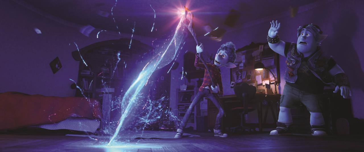 画像: 魔法の光の描写が美しい『2分の1の魔法』