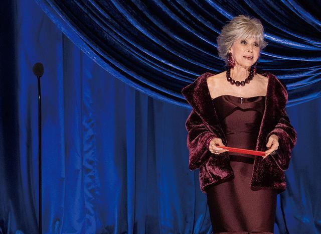 画像: 今年のアカデミー賞でプレゼンターを務めたリタ・モレノ