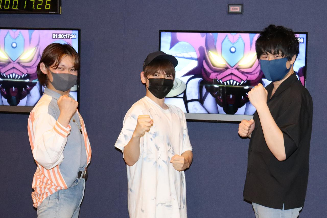画像: 左から、向野さん、内田さん、寸石さん