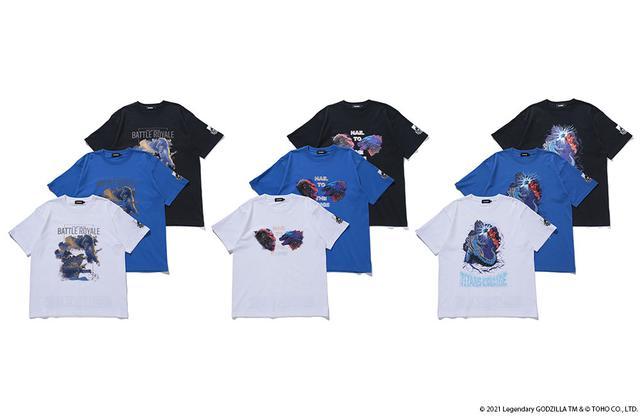 画像1: XLARGE×BOUNTY HUNTER×GODZILLA vs. KONG コラボTシャツが7月2⽇(⾦)より発売︕