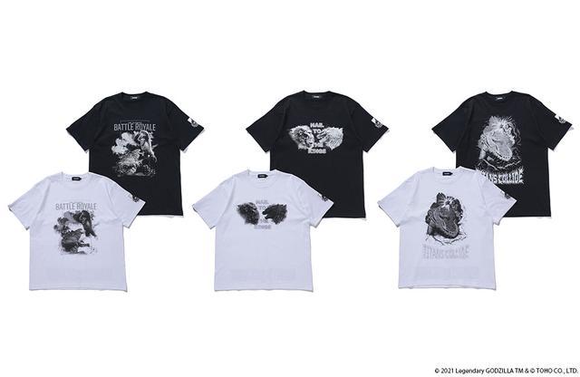 画像2: XLARGE×BOUNTY HUNTER×GODZILLA vs. KONG コラボTシャツが7月2⽇(⾦)より発売︕