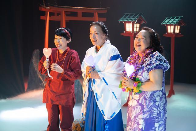 画像: 温泉の女神たちの、ふせえり、中島ゆたか、しのへけい子