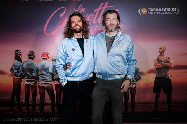 画像: (左から)セドリック・ル・ギャロ監督、マキシム・ゴヴァール監督
