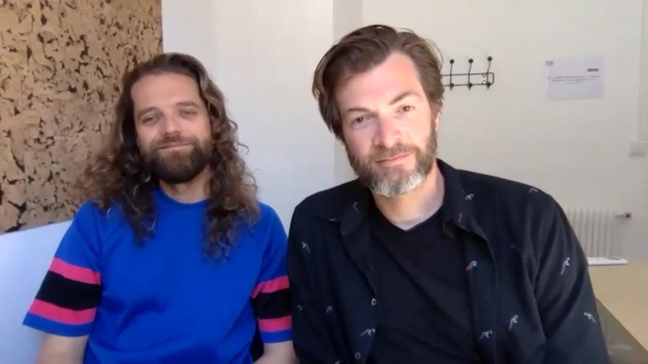 画像: セドリック・ル・ギャロ監督(左)、マキシム・ゴヴァール監督(右)