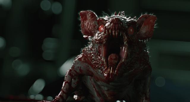 """画像: 潜水艦で大量発生!小さいながら群れると怖すぎる""""ネズミ型B.O.W."""