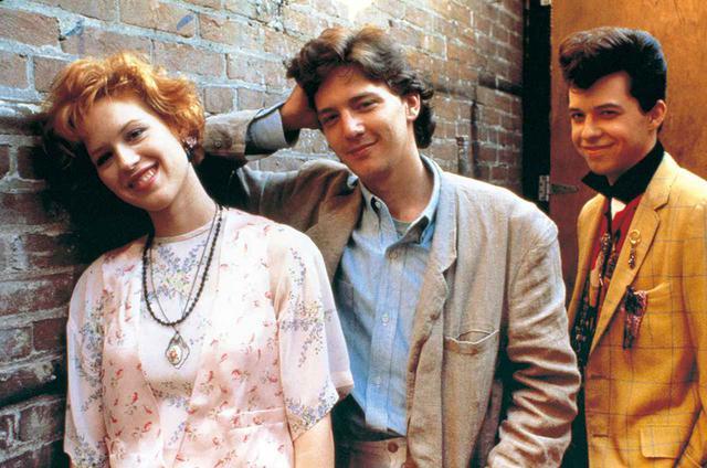 画像: 『プリティ・イン・ピンク/恋人たちの街角』(1986)より