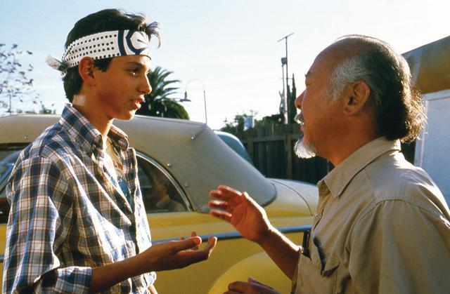 画像1: 『ベスト・キッド』(1984)より