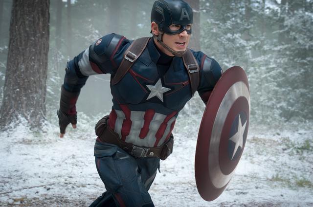 画像: 『アベンジャーズ/エイジ・オブ・ウルトロン』(2015)キャプテン・アメリカ