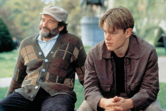 画像: 『グッド・ウィル・ハンティング/旅立ち』(1997)ショーン博士