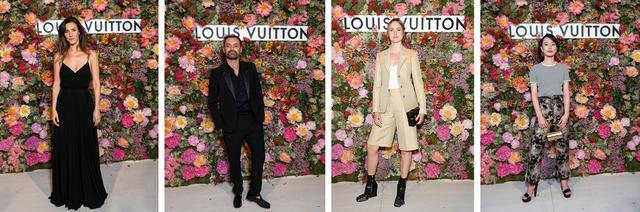 画像: (C)LOUIS VUITTON (左から)俳優のドリア·ティリエ、 ジャーナリストのオーギュスタン·トラペナード、 俳優のレナーテ·レインスヴェ、 俳優のメング·リー