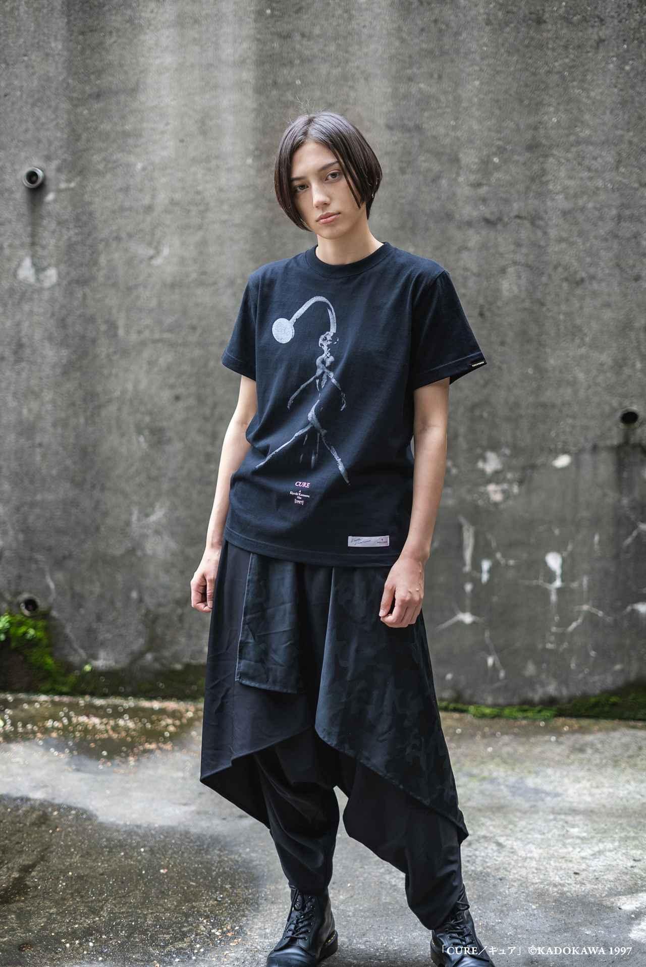 画像2: 『CURE』『回路』など黒沢清監督4作品のTシャツが本日より発売