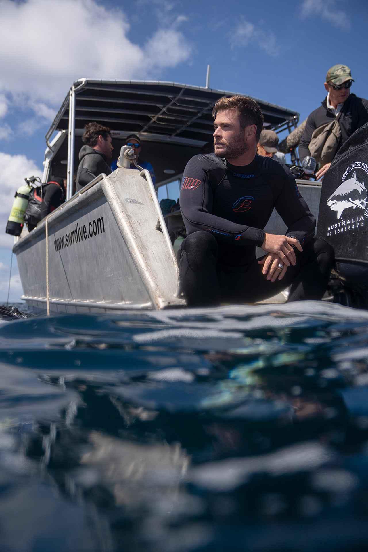 画像: 「クリス・ヘムズワースinシャーク・ビーチ」 (c)National Geographic