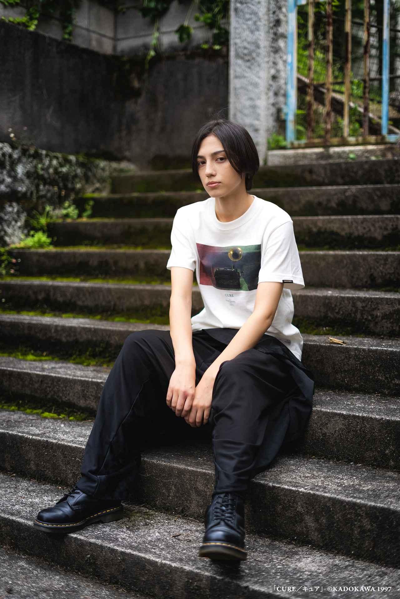 画像3: 『CURE』『回路』など黒沢清監督4作品のTシャツが本日より発売