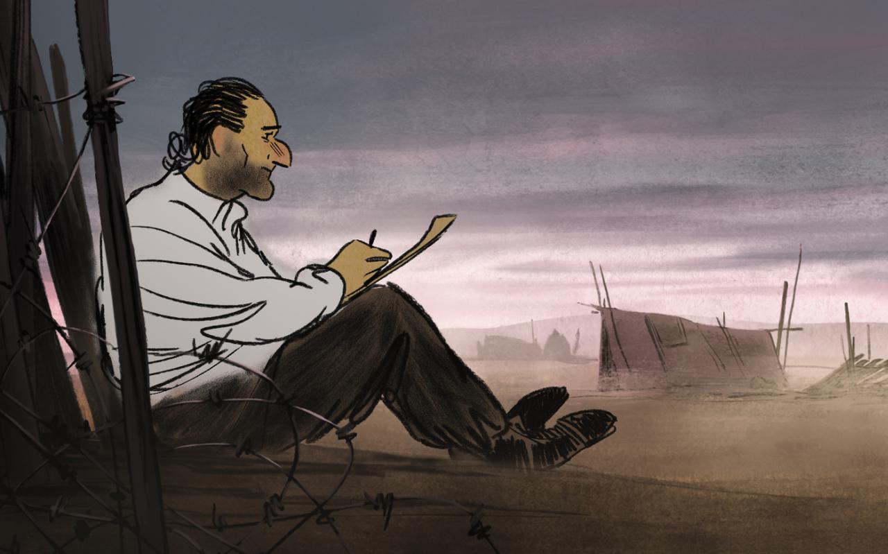 画像: 人間の尊厳を問われる収容所の実態を捉えた本編映像