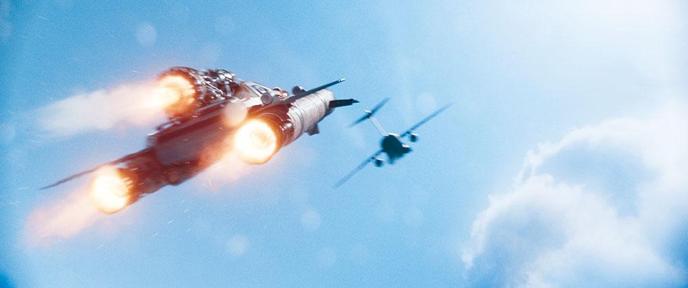 """画像: """"ありえない⁉︎""""ポイント3: 空、飛べるの!? 宇宙にも!?"""