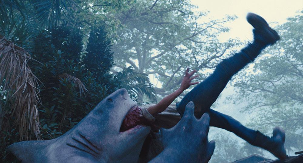 画像: スタローンが声を演じるキング・シャークは「かわいい」?