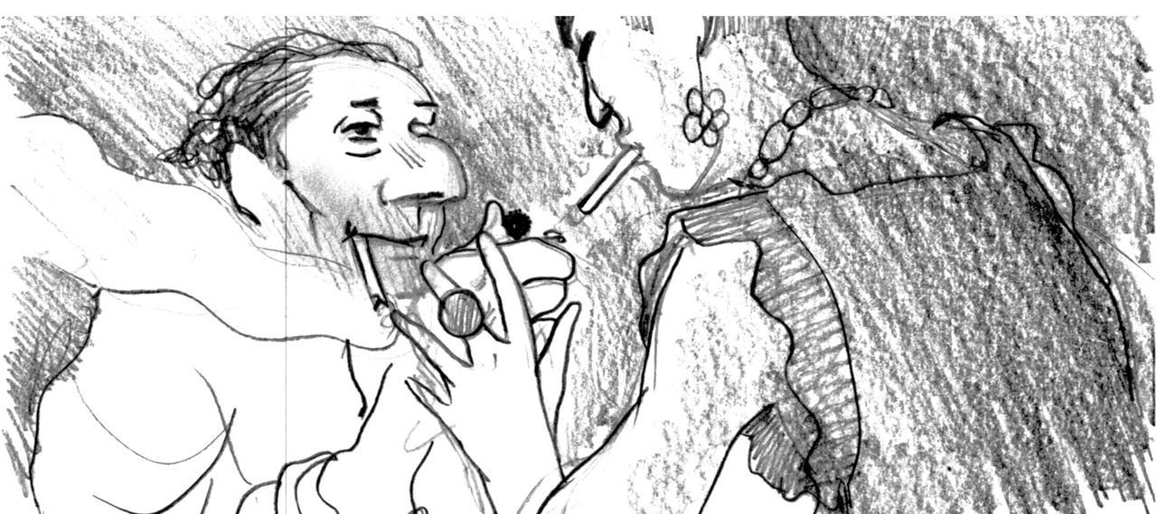 画像3: 世界が絶賛したオーレル監督作品『ジュゼップ 戦場の画家』貴重なキャラクタースケッチ一挙解禁!