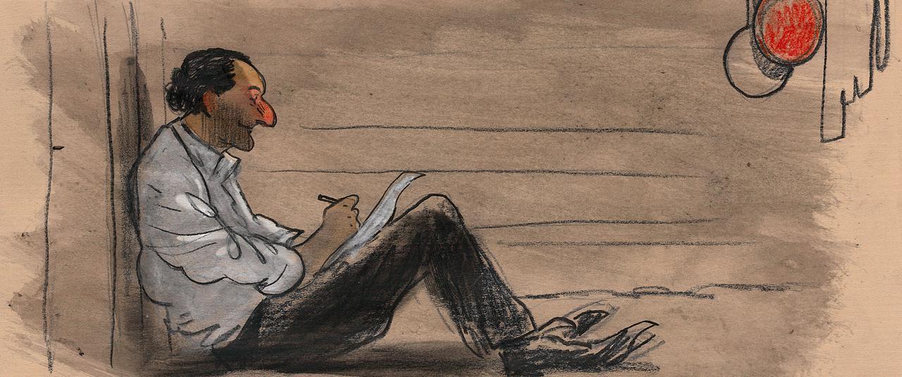 画像1: 世界が絶賛したオーレル監督作品『ジュゼップ 戦場の画家』貴重なキャラクタースケッチ一挙解禁!