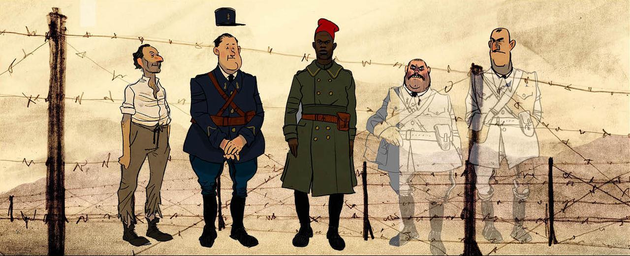 画像2: 世界が絶賛したオーレル監督作品『ジュゼップ 戦場の画家』貴重なキャラクタースケッチ一挙解禁!