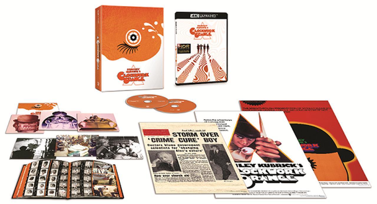 画像: 『時計じかけのオレンジ』は製作50周年を記念し、初の4K ULTRA HDに