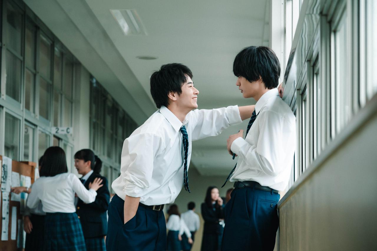画像: 写真左から:前田旺志郎、神尾楓珠 (c)2021「彼女が好きなものは」製作委員会