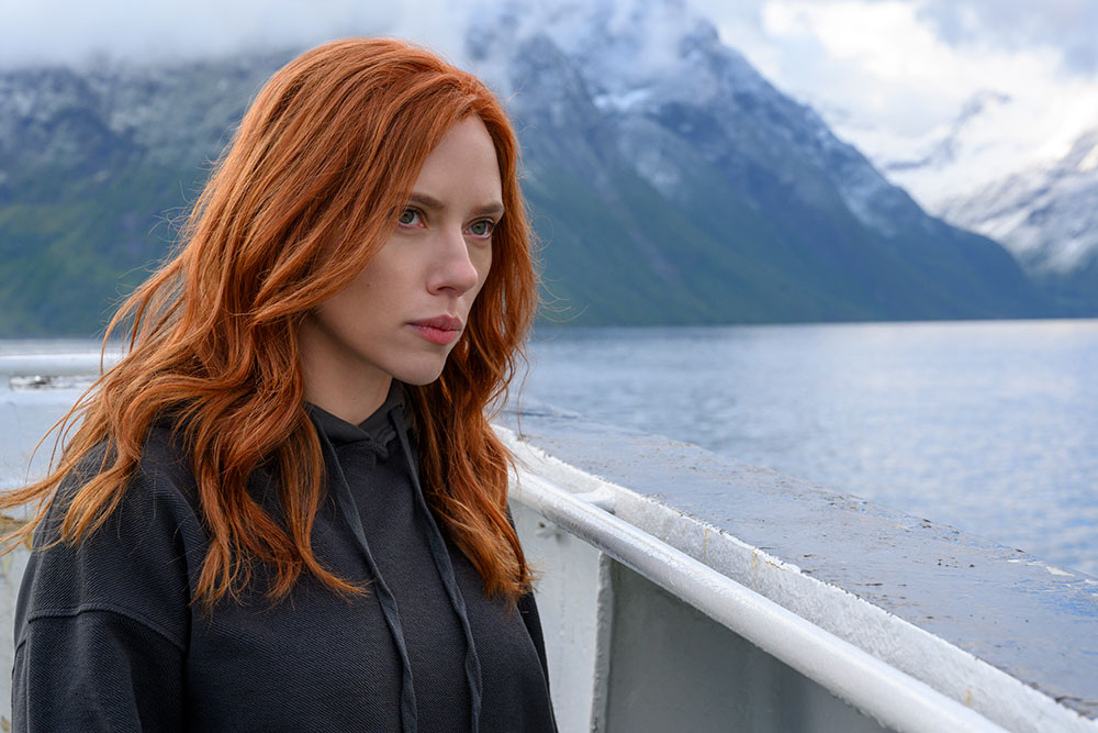 画像: 『007』ネタはナターシャ(スカーレット・ヨハンソン)にちなんだもの?