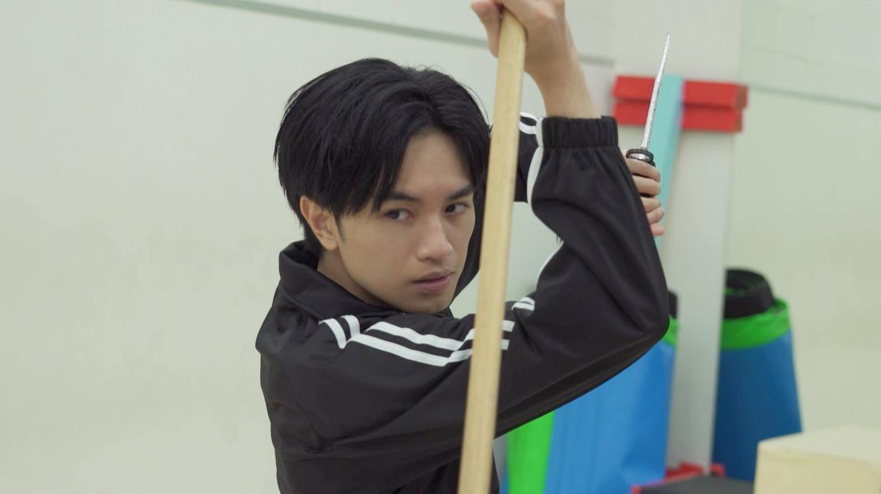 画像: 第9回は中島がアクションシーンに挑戦!
