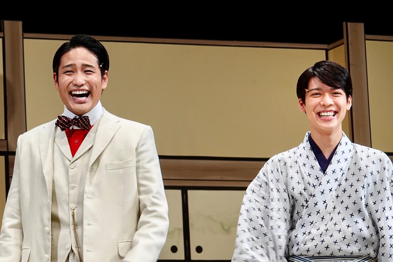 画像: 写真左から:桐山照史、松島聡