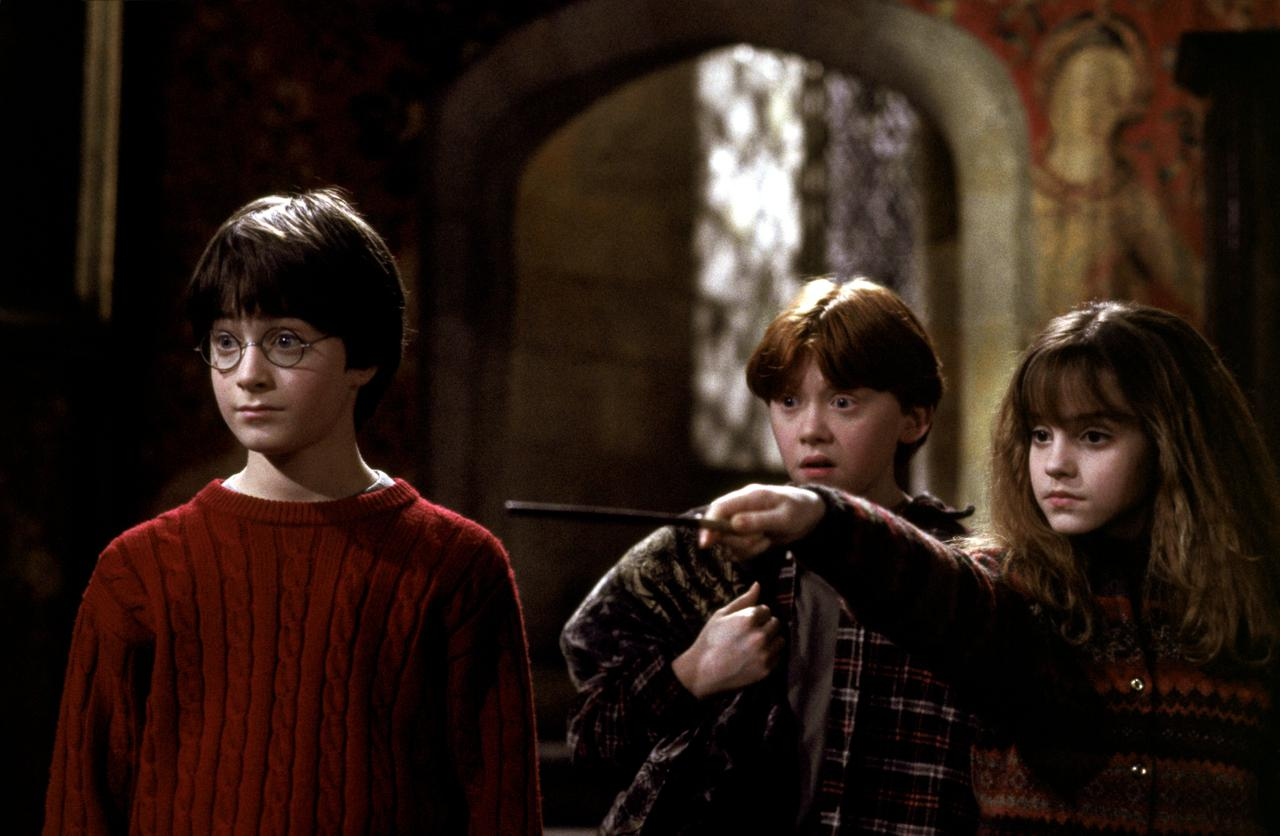 画像: 『ハリー・ポッターと賢者の石』