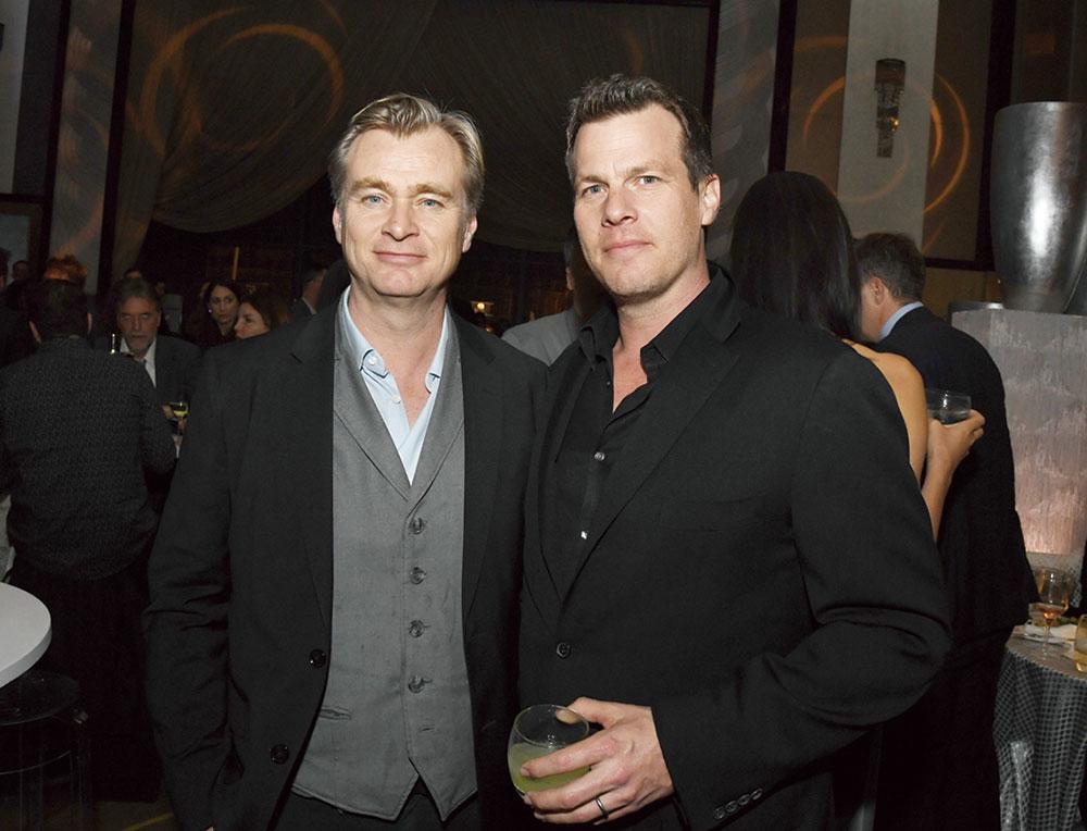 画像: 兄のクリストファー・ノーラン(左)と Photo by Kevin Winter/Getty Images