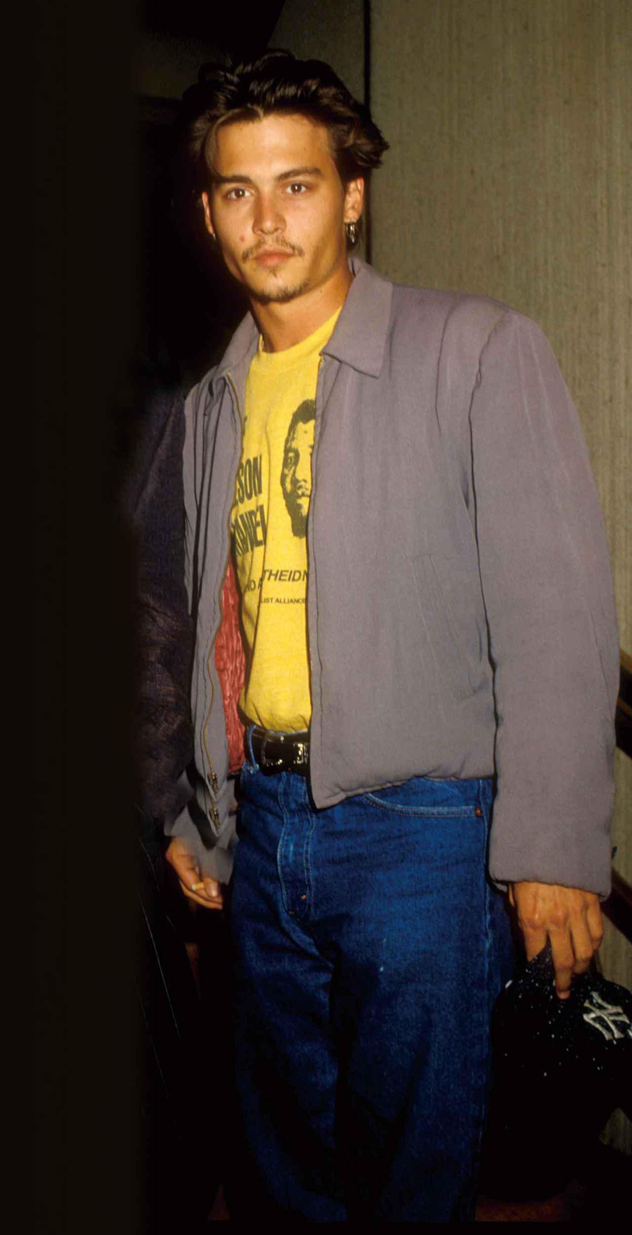 画像: 新人スター時代のジョニー・デップ