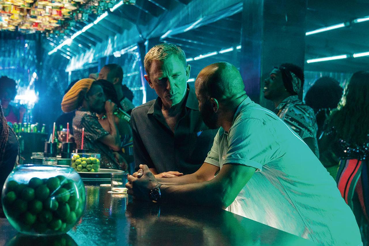 画像: ボンドのもとに旧友フィリックスが現れたことで新たな物語の幕が開く