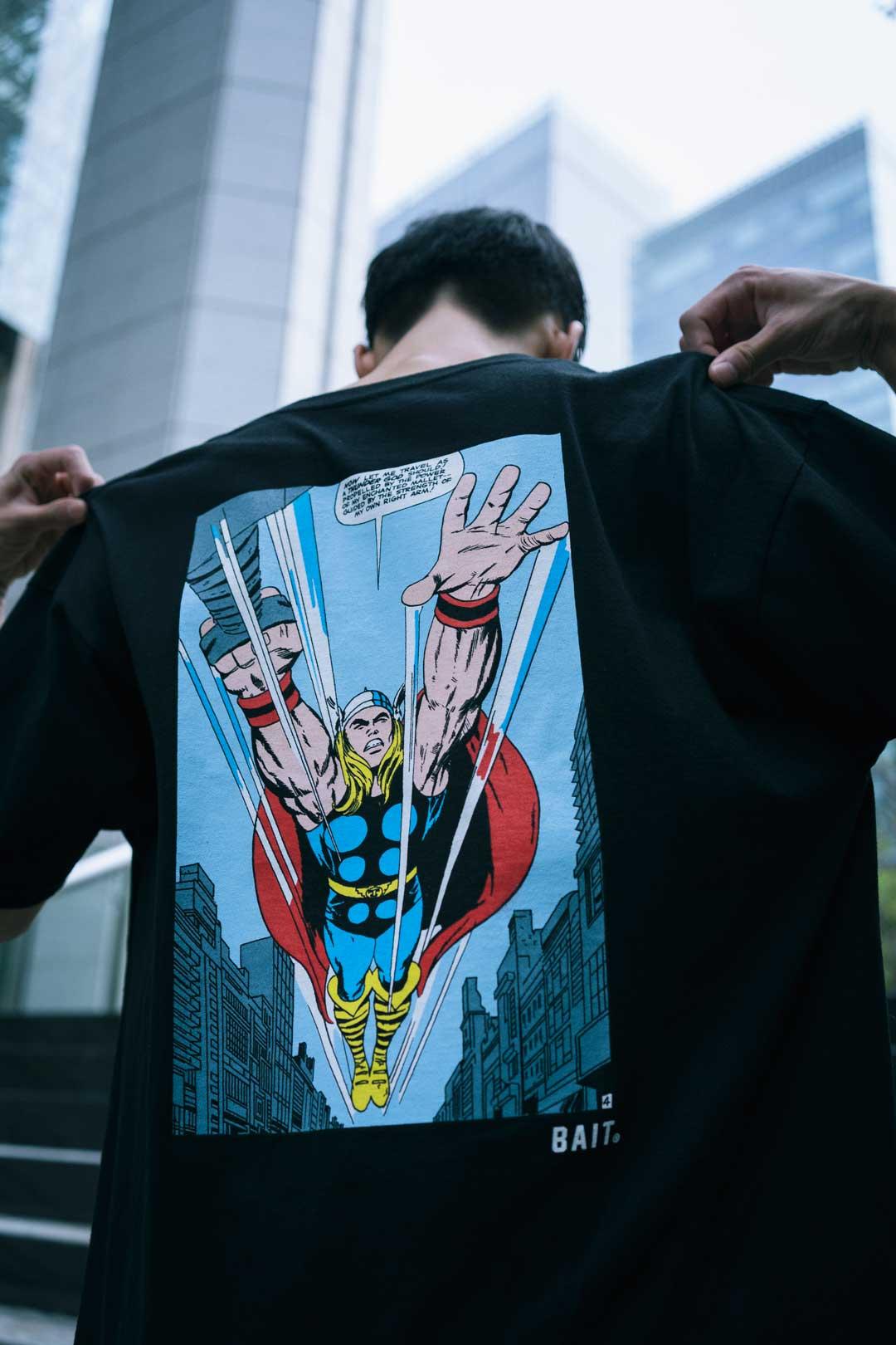 画像6: 「アベンジャーズ」登場ヒーロー達の活躍シーンが切り取られたアパレルコレクションが「BAIT」で展開中