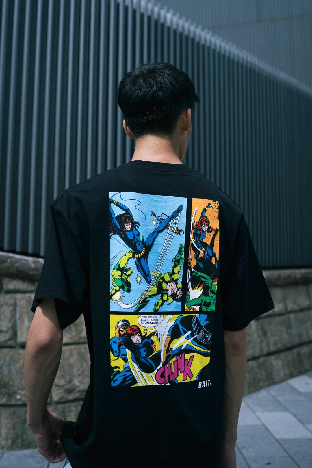 画像8: 「アベンジャーズ」登場ヒーロー達の活躍シーンが切り取られたアパレルコレクションが「BAIT」で展開中