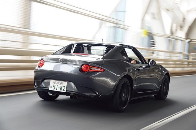 画像1: 【試乗】マツダ ロードスターRF RSは、大人のスポーツカー&ときどきヤンチャ